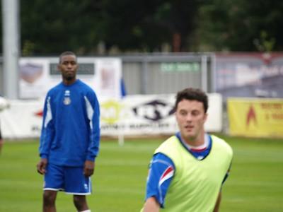 EFC v Grays Athletic Pre Season Friendly 11.7.2008