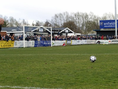 Eastleigh v AFC Wimbledon 28.3.2009