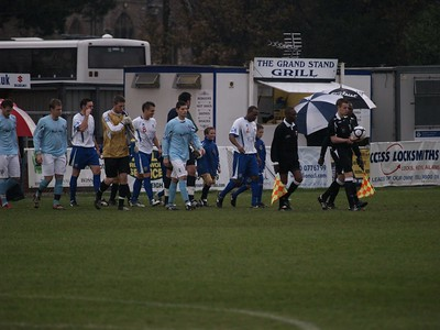 Eastleigh (1) v Lewes(1) FA Trophy 21.11.2009