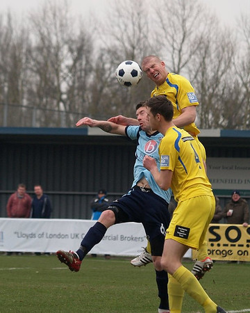 Eastleigh (3) v Dorchester (1) 1.4.2013