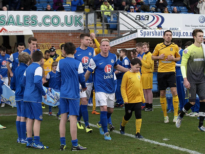 Eastleigh (0) v Cambridge United (1) FA Trophy Q Final 1.2.2014