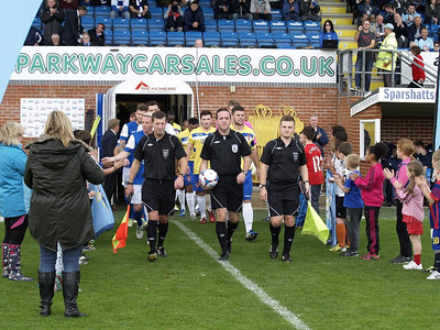 Eastleigh (1) v Staines (0) 19.10.2013