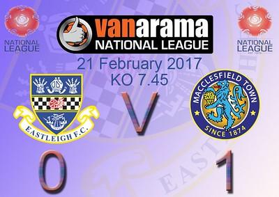 Eastleigh (0) Macclesfield Town (1) 21.2.2017
