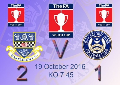 Eastleigh (2) v Hungerford (1) FA Youth Cup 19.10.2016