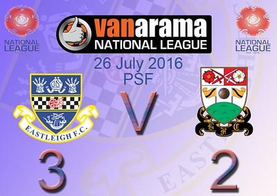 Eastleigh  (3) v Barnet (2) PSF 26.7.2016