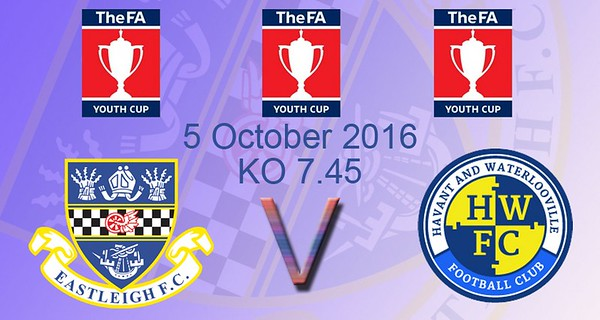 Eastleigh (3) v Havant and Waterlooville (0) FA Youth Cup 6.10.2016