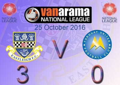 Eastleigh (3) v Torquay United (0) 25.10.2016
