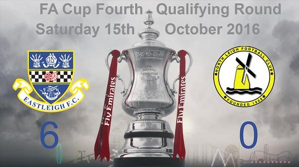 Eastleigh (6) v North Leigh (0) 4th QR FA Cup 15.10.2016