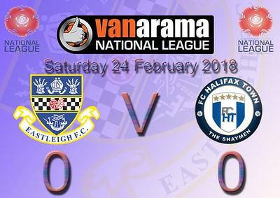 Eastleigh (0) v Halifax Town (0) 24.2.2018