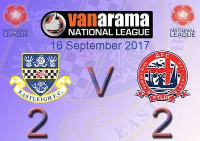 Eastleigh (2) v AFC Fylde (2) 16.9.2017