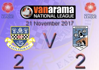 Eastleigh (2) v Maidenhead United (2) 21.11.2017