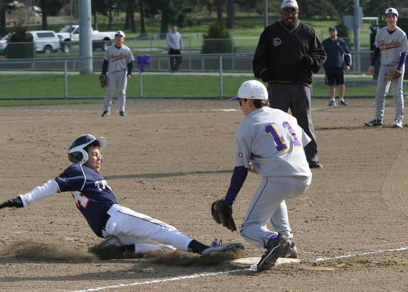 Sliding under the tag
