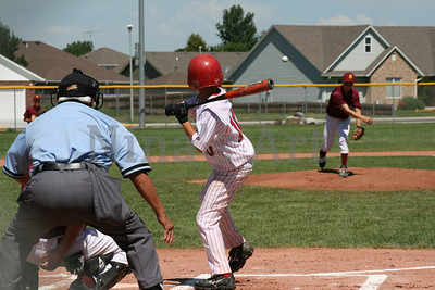 Eaton Legion D Baseball In Brush 7/13/2009