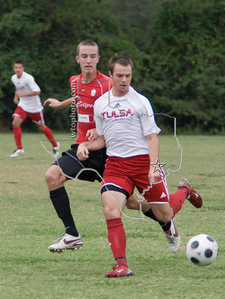Eclipse 91 Black vs. Tulsa Soccer Club 91<br /> Burroughs Park, Tomball Score 1-2