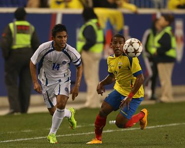 Ecuador v El Salvador Soccer 141014