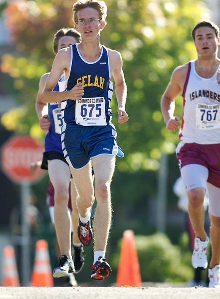 Selah at the Edmonds Invitational Cross Country meet.