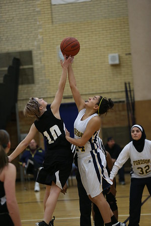 Edsel Girls Varsity BB vs Fordson
