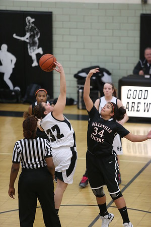 Edsel Girls Varsity vs Belleville