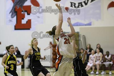 Eielson Ravens basketball 2008-2009
