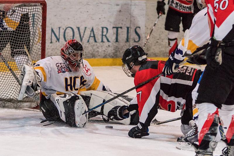 ZSHL Playoff 2016 - Der HC88 Baar gewinnt im Playoff 1/4 Finalspiel gegen HC Siebnen 9:3.