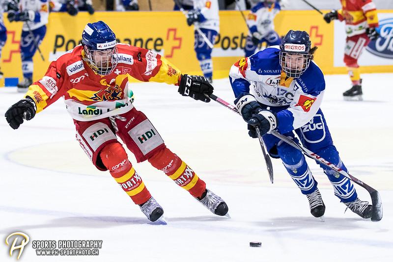Novizen Elite - Finalissima - Spiel 1: EHC Biel-Bienne Spirit - EV Zug - 7:4