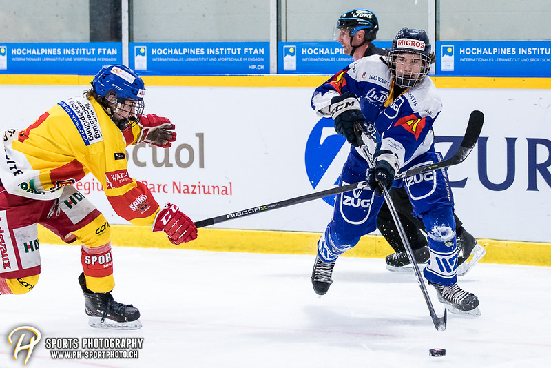 Novizen Elite - Finalissima - Spiel 2: EV Zug - EHC Biel-Bienne Spirit - 2:1