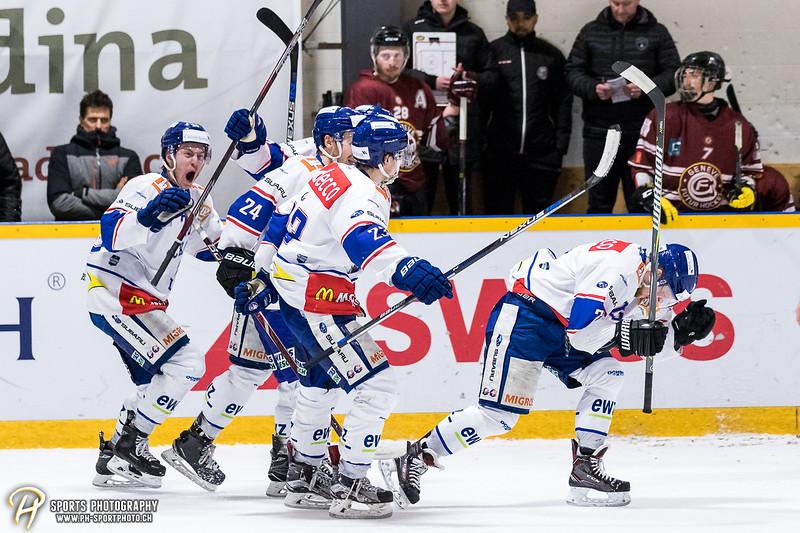 Elite A Junioren - Finalissima - Spiel 2: Genève Futur Hockey - GCK Lions - 3:2 OT