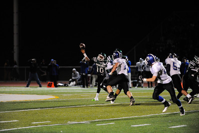 El Cerrito High Schools versus Analy High School. The Gauchos would win 40-20. Nov. 23, 2012. Photo by Ian Billings