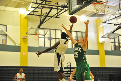 El Cerrito High Gauchos Drake High. The Gauchos won 55-47. December 11, 2012.