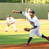 Star Photo/Larry N. Souders<br /> Twins starting pitcher Melvi Acosta (50) fires the first pitch of the game.