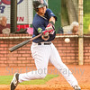 Star Photo/Larry N. Souders<br /> The Twins Jose Miranda (27) slaps a two run RBI singles on a ground ball to center field in the bottom of the third.