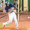 Star Photo/Larry N. Souders<br /> Twins second baseman Carson Crities (39) get the bottom of the third inning started off right reaching on a throwing error by Cardinal shortstop Wood Myers.