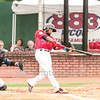 Star Photo/Larry N. Souders<br /> Twins third baseman Ariel Montesino (9) got the evening started perfectly by leading off with a homer to right center field on the second pitch of the game. It was his first of two homer in the game the second coming in the bottom of the sixth.