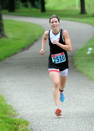 Women's winner Katie Buhr. Photo by Pat Christman