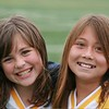 Emi and her friend Charly at track meet at Notredame‏ Track Meet<br /> Emi came in 2nd in the mile against 5 other schools...  6:30 mile..