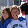 Emi and her friend Christine at Notredame‏ Track Meet<br /> Emi came in 2nd in the mile against 5 other schools...  6:30 mile...