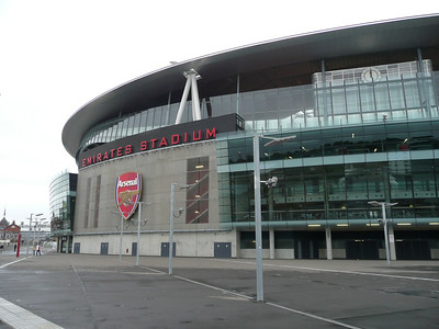 I went to Emirates, over a week before the game