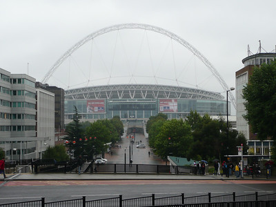 Wembley from Wembley Park station
