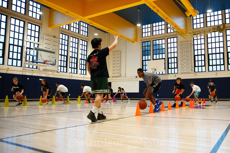 4/26/17: Skills and Drills at Roosevelt Middle School in San Francisco, CA. Image by Chris M. Leung for EmpowerMe Academy