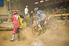 One of the Hazards of Being trackside - Getting dirt in your face - Endurocross Finals - Photo by Pat Bonish