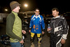 Hanging out in the Pits with Jim Ryan, Matt Hutton and another one of the racers - Photo by Pat Bonish