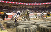 Major Carnage on the Tire Obstacle - Endurocross Finals in Las Vegas - Photo by Pat Bonish