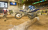 One way to clear a Log Obstacle - Endurocross Finals in Las Vegas - Photo by Pat Bonish