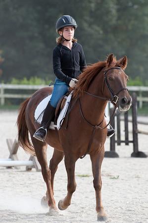 2009-10-06 Horseriding Kelly