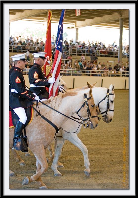Mounted Marines
