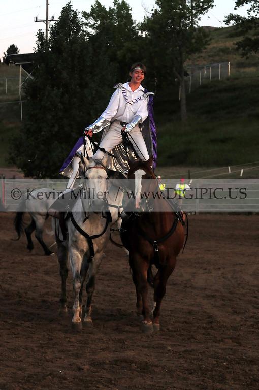 2012 White Division Show Horse Roman