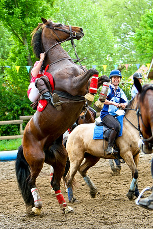 Horseball Cazaux