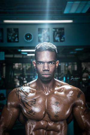Eric at Gym