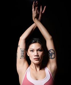 Dec. 7,  2019 - New York, NY   Yogi Erica Chen captured at Yoga Vida studio in Dumbo  Photographer- Robert Altman Post-production- Robert Altman