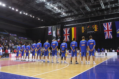Great Britian v Bosnia & Herzegovina (26.08.10) - GB Standard Life men are on the way to Lithuania after a heart-stopping 94-85 win against Bosnia & Herzegovina